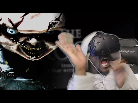 CHUCKY WANTS TO PLAY  | The RooM Episode 3  VR 360° horror HTC Vive REACTION