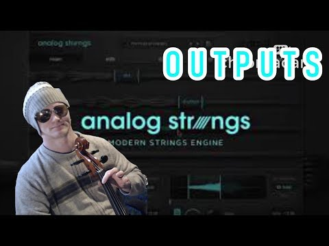 Output Analog Strings  Core samples