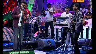 Omkara nadanu HQ - Karthik with Bennet and the Band - airtel super singer