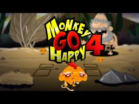 """Игра """"Счастливая Обезьянка 4"""" (Monkey GO Happy 4) - прохождение"""