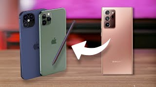 5 Galaxy Note 20 Ultra features Apple needs for iPhone 12
