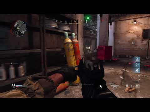 Call of Duty: Modern Warfare:Team deathmatch me and recruit bots vs hardened bots
