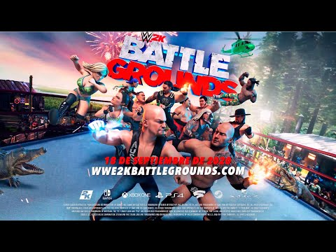 WWE 2K Battlegrounds Trailer Oficial - Lucha sin Límites