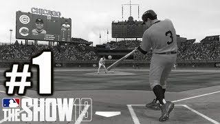 RELIVING THE MOST FAMOUS MOMENT IN BASEBALL HISTORY! | MLB The Show 19 | Moments #1