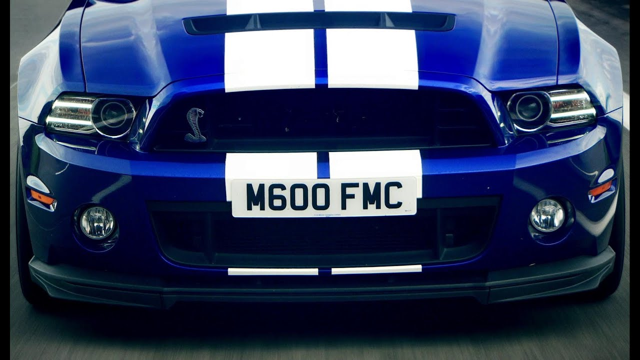 Ford Mustang Gt500 Top Gear