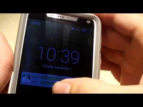 Motorola Droid Razr M XT907 Running Android 5.1.1 CM12.1