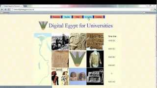 Digital Resource Series 2012 - Step 3a: Primary Sources - Databases for Egyptology
