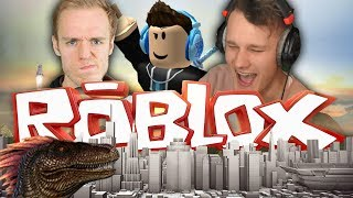 MY FIRST ROBLOX VIDEO EVER?! (DINO SERVERS!)