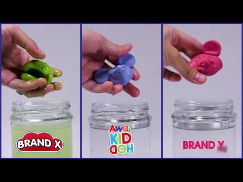 Play With Clay | Awal KIDDOH | Waterproof Test