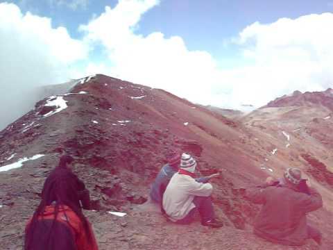 BOLIVIA, LA PAZ,  Deshielo en Chacaltaya (5500m/snm) Calentamiento Global.