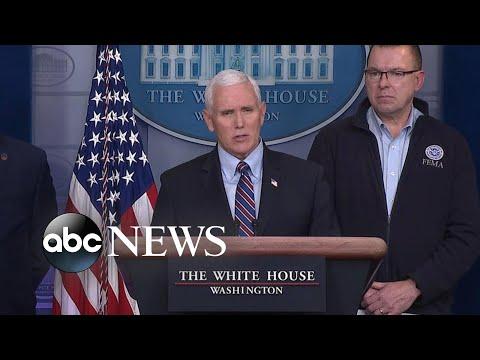 Vice President Pence Speaks At Coronavirus Task Force Briefing