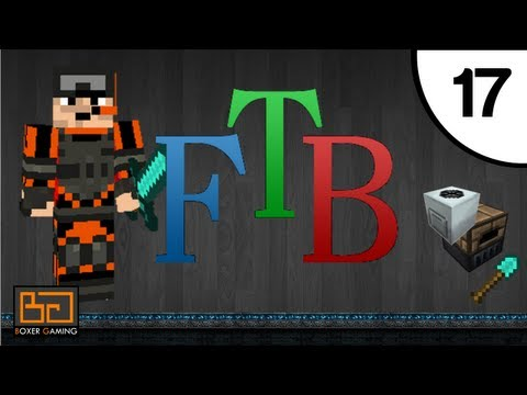 FTB - #17 - Item Sorting Setup [MineCraft] [Feed The Beast] [Direwolf20 Pack]
