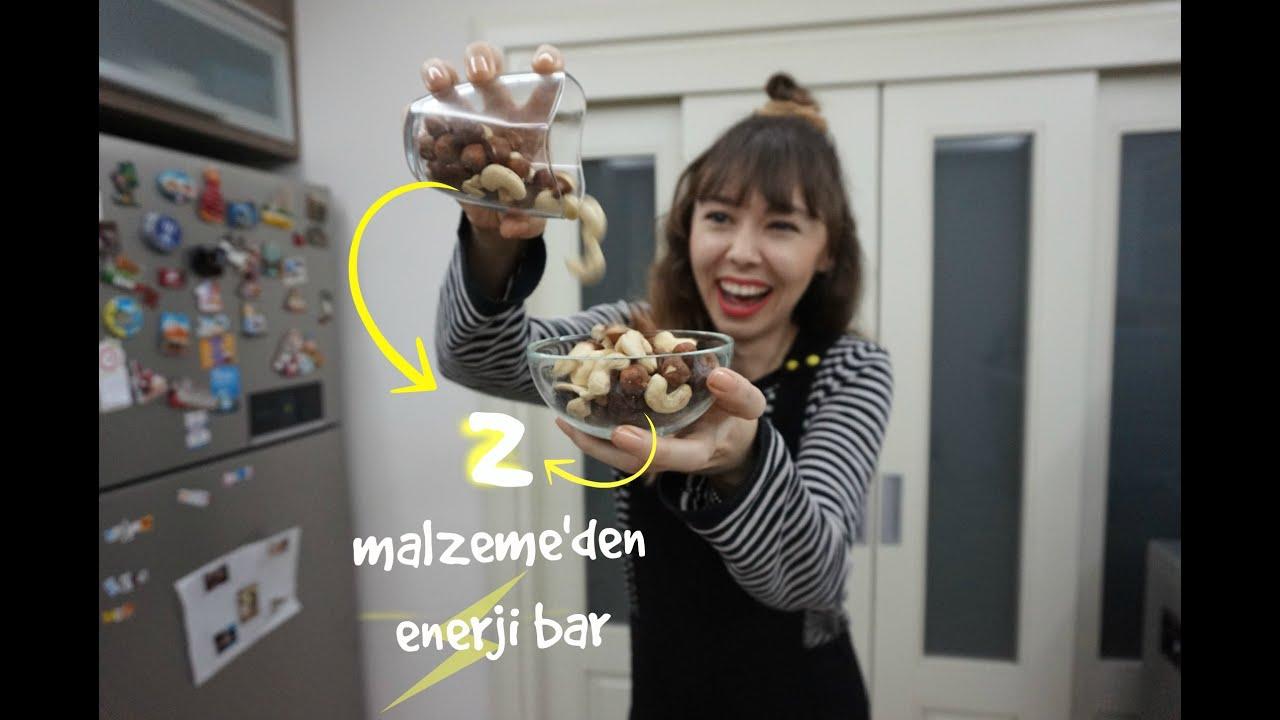 Kolay,sağlıklı enerji bar  | Kitap tavsiyesi |  Bana sorun