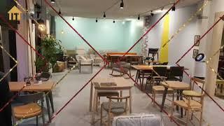 원목 우드터닝카페&독특한 쇼룸