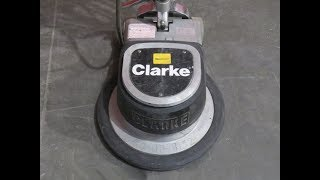 The EASIEST Way to Remove Thin Set From a Concrete Floor #TimeSaver