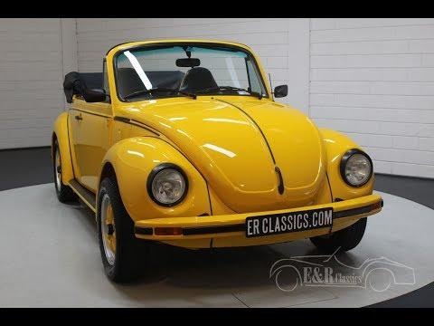 Volkswagen Beetle Cabriolet 1303 1974 -VIDEO- www.ERclassics.com