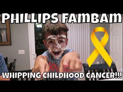 WHIPPING CHILDHOOD CANCER CHALLENGE!! PHILLIPS FamBam