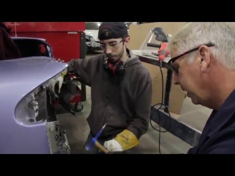 Auto Body Collision Technology at Hennepin Tech