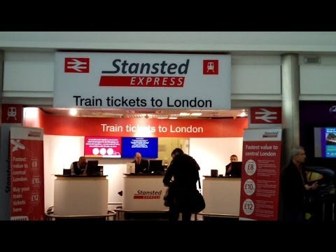 Stansted Express to London Liverpool Street