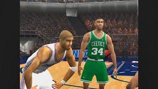 NBA Live 2002 - Celtics vs Nets