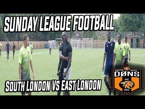 """SE DONS SUNDAY LEAGUE: """"South London Vs East London - Sunday league Football"""