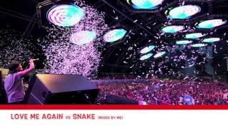 Love Me Again vs Snake | Blasterjaxx & John Newman Mix (Inspired by Avicii @Tomorrowland 2015)
