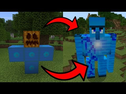 How To Spawn The Guardian In Minecraft PE