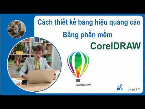 Cách thiết kế hộp đèn bảng hiệu quảng cáo bằng CorelDraw   Long LEO