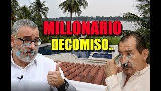 Ultima Hora! Millonario decomiso a Mauricio Funes y Mecafe 24 millones
