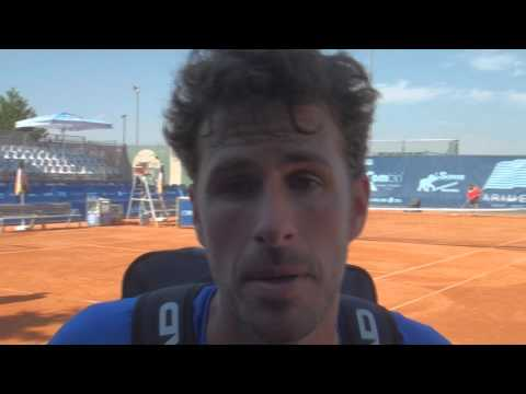 ARIMEX Challenger Open 2015: Interview with Robin Haase after his win against Riccardo Bellotti