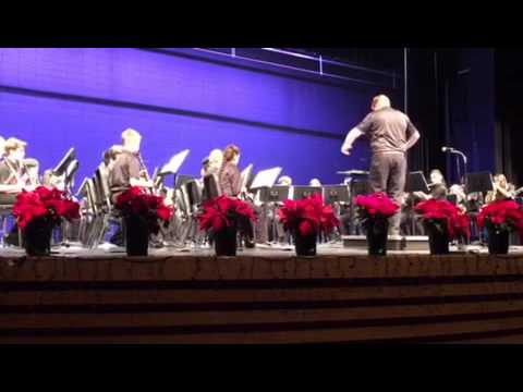 Mayfield Woods Middle School Band 12/8/16
