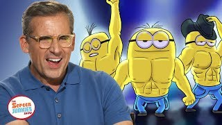 Despicable Memes: Steve Carell & Kristen Wiig React To Odd Minion Memes