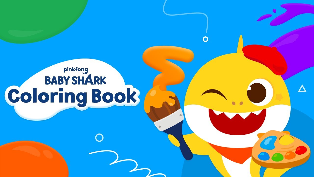 [New Features] Baby Shark Coloring Book