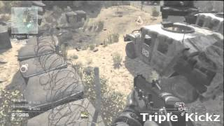 Call Of Duty: MW3 Glitch Out Of Map On Dome (Solo) (Survival) (Tutorial) (PATCHED) [HD]