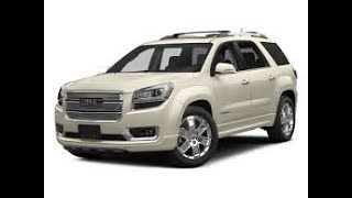 Fuel pump change on a GMC Acadia/ Chevy  Traverse/ Buick Enclave