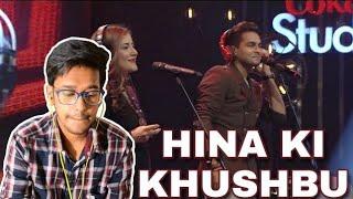 Indian Reacts To :- HINA KI KHUSHBU | Asim Azhar | Coke Studio | Season 8