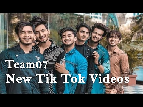 Team 07 Latest Tik Tok Comedy Video, Mr Faisu New Tik Tok Video, Hasnain Adnaan Saddu Faiz TikTok 01