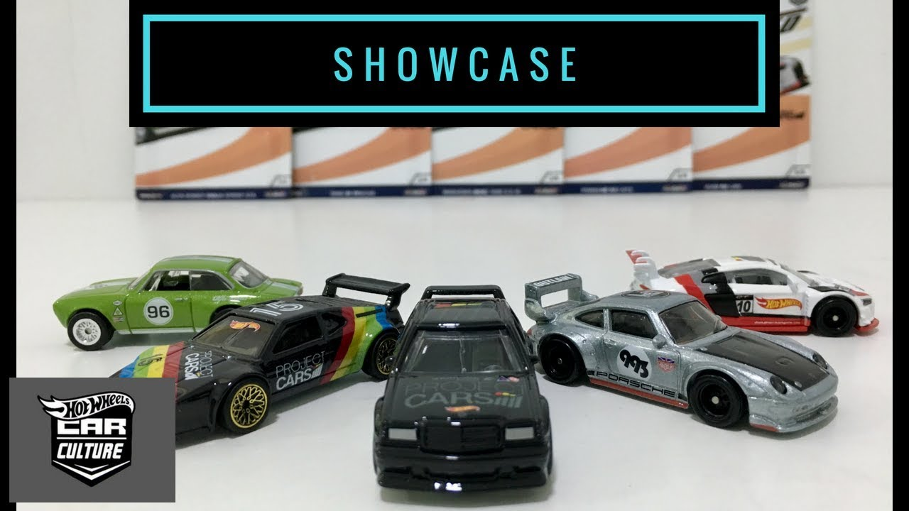 Showcase Hot Wheels 2018 Car Culture Eurospeed Set Youtube