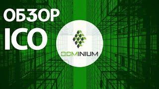 Обзор ICO Dominium, купил 10000 токенов.