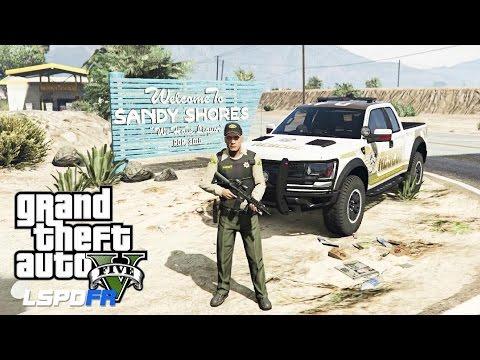 GTA 5 LSPDFR - EPiSODE 72 - LET'S BE COPS - SANDY SHORES PATROL (GTA 5 PC POLICE MODS RAPTORS)