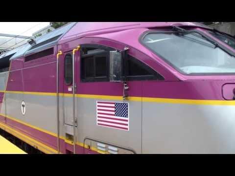 MBTA Commuter rail at ruggles Station