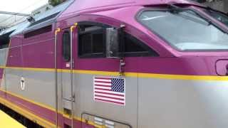 MBTA Commuter rail at ruggles Station