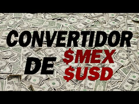 Convertidor de $MX a $USD con JavaScript
