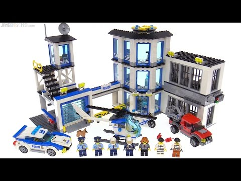 LEGO City 2017 Police Station review 👮 60141