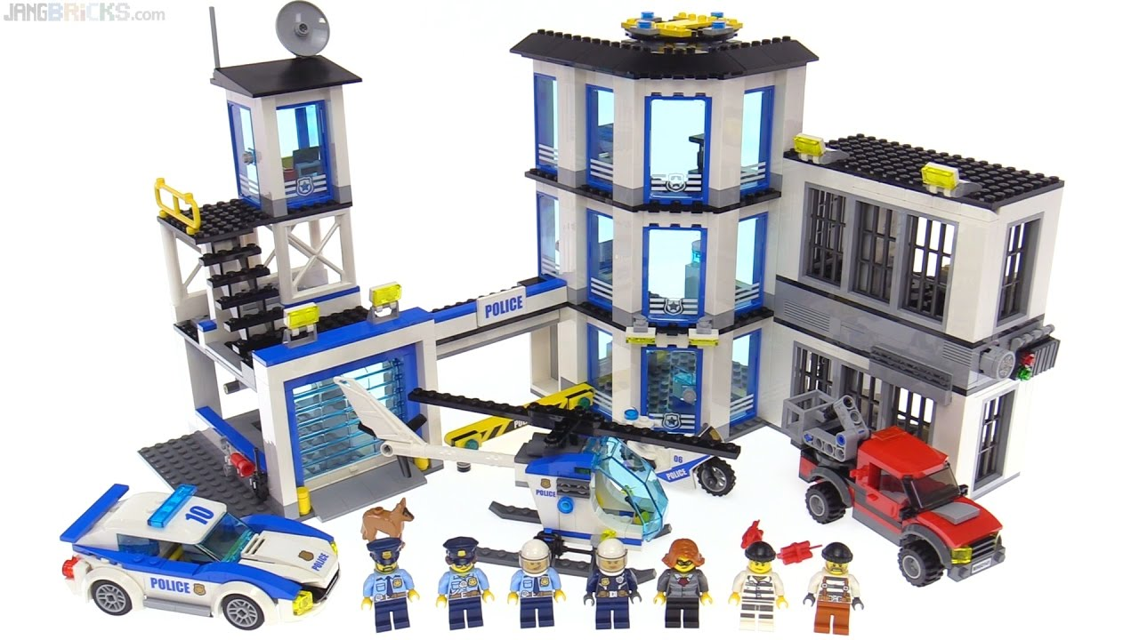Lego City 2017 Police Station Review 60141 Youtube