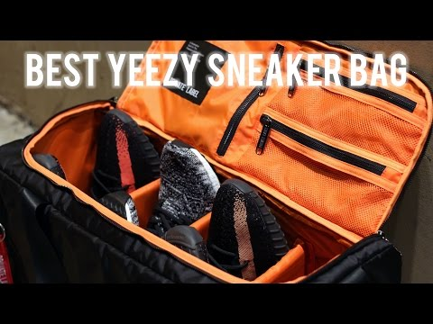 BEST YEEZY SNEAKER BAG! (DETAILED REVIEW) [Private Label NYC Duffle Bag]