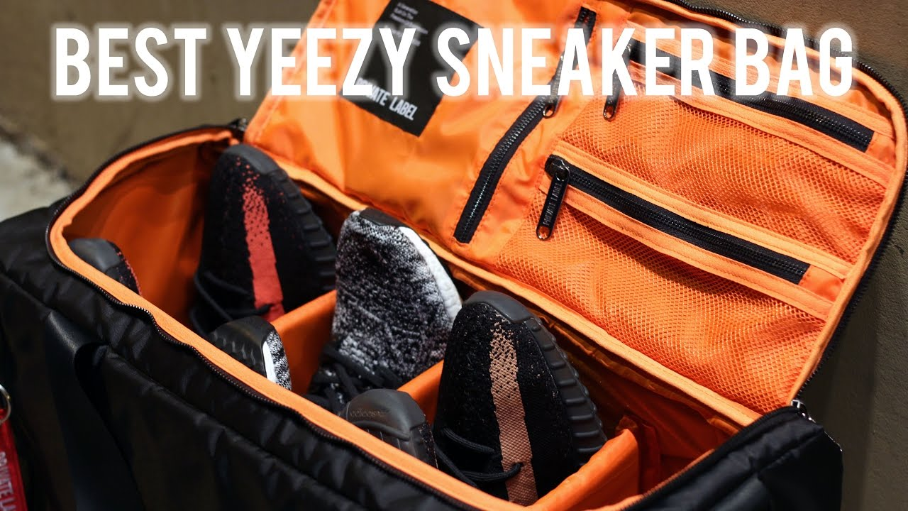 e4b1e7fa829 BEST YEEZY SNEAKER BAG! (DETAILED REVIEW) [Private Label NYC Duffle ...