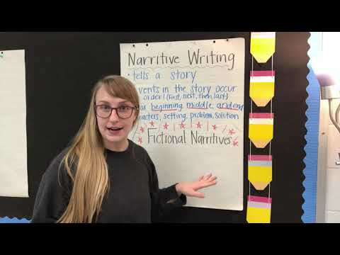 Intro to Fictional Narrative Writing