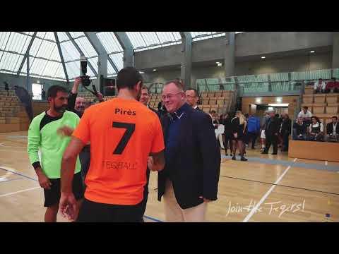 Teqball All Stars Cup, Luxembourg - Robert Pirès