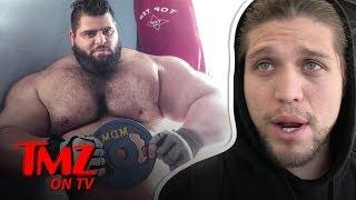 UFC Star Says He'd Destroy 'Iranian Hulk' | TMZ TV